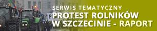 Protest rolników w Szczecinie